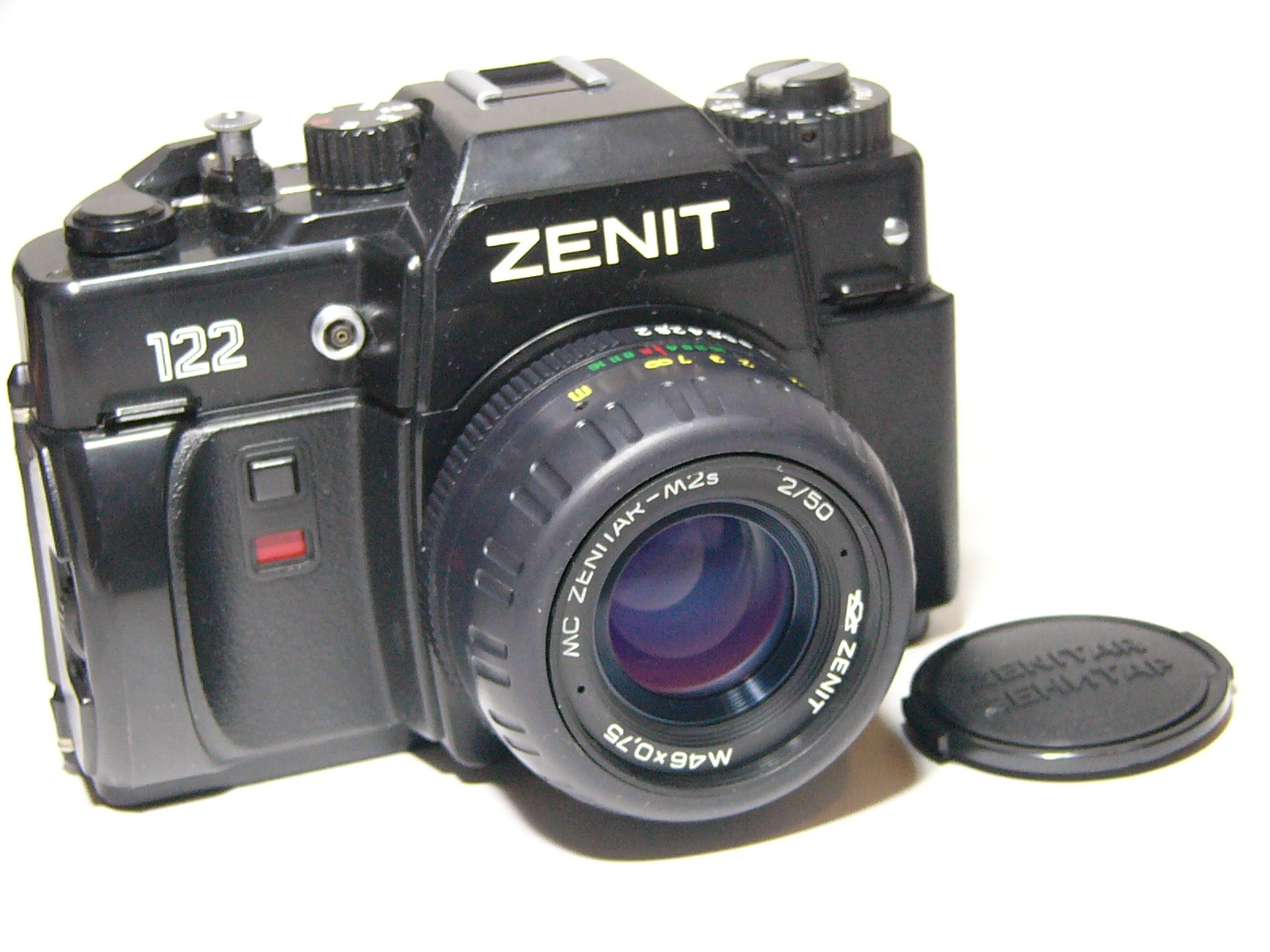 Zenit: Zenit 122 #93168256 35mm SLR Mechanical Film Camera/lens